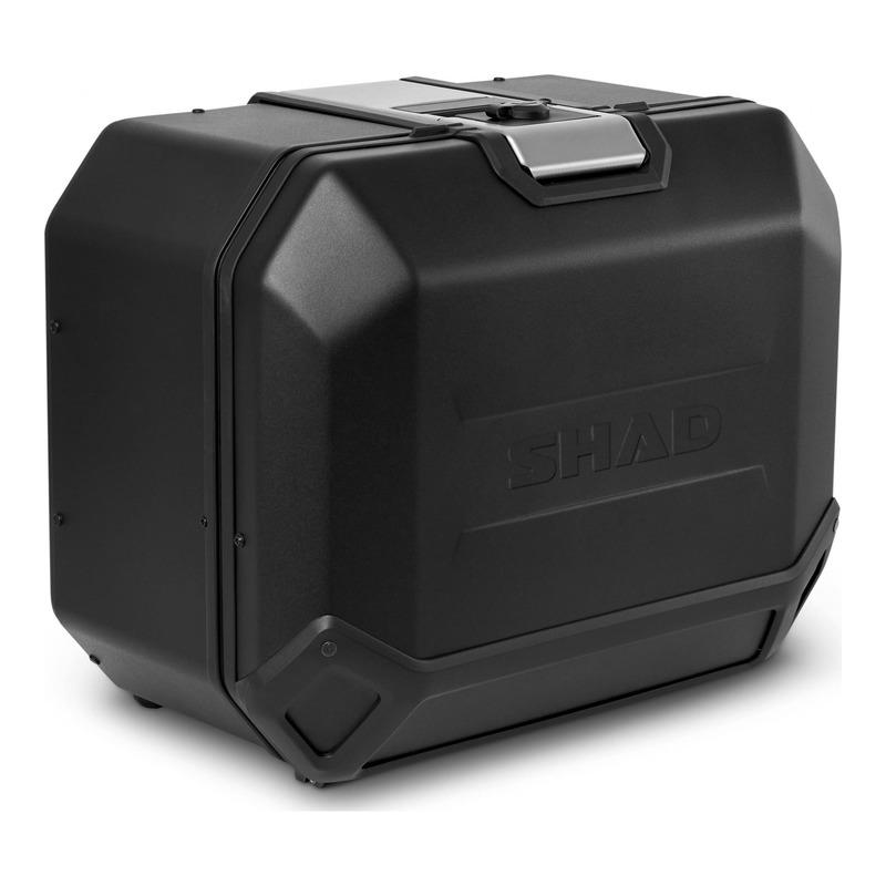 Valise latérale Shad Terra TR47R Black Edition noir (côté droit)