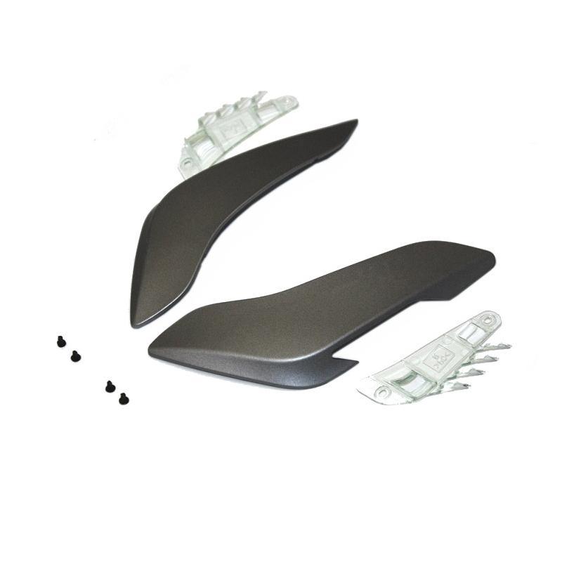 Ventilation arrière Shoei Hornet ADV gris mat