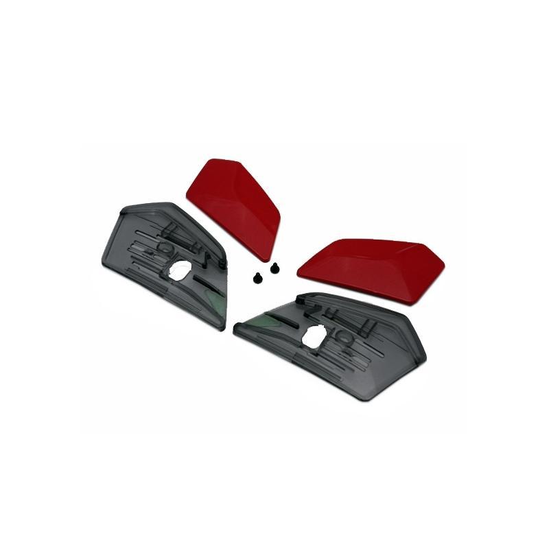 Ventilation arrière Shoei J-Cruise rouge