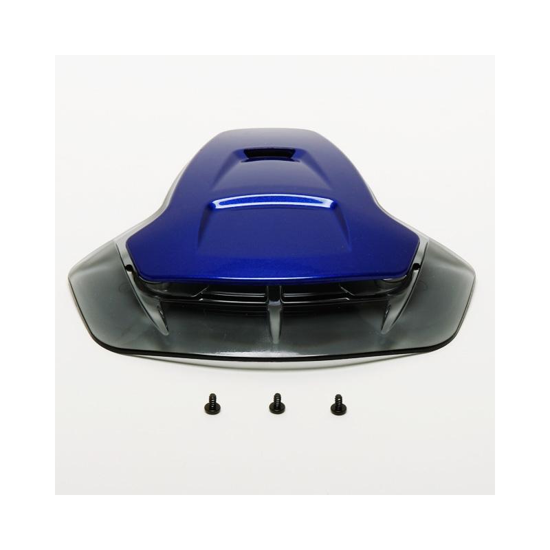 Ventilation frontale Shoei Multitec bleu royal
