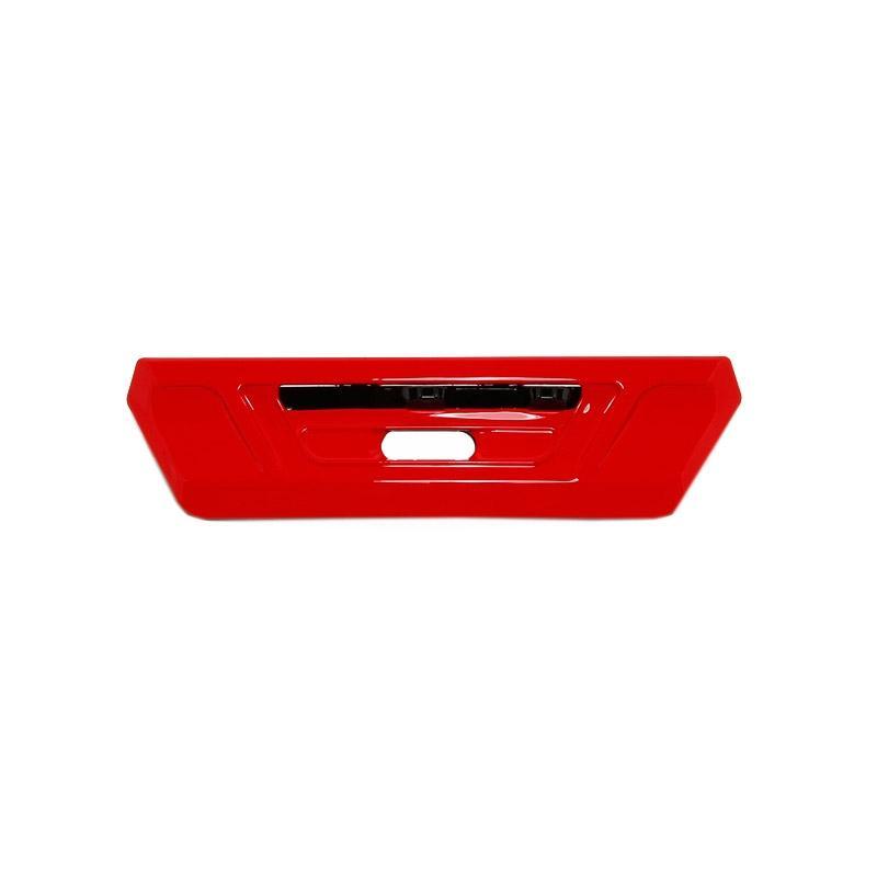 Ventilation frontale Shoei NXR rouge