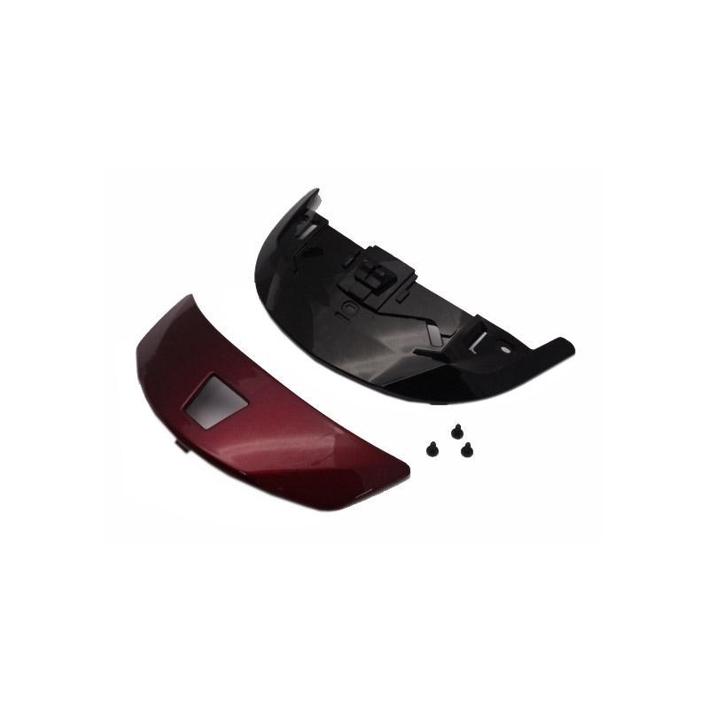 Ventilation frontale Shoei Qwest rouge