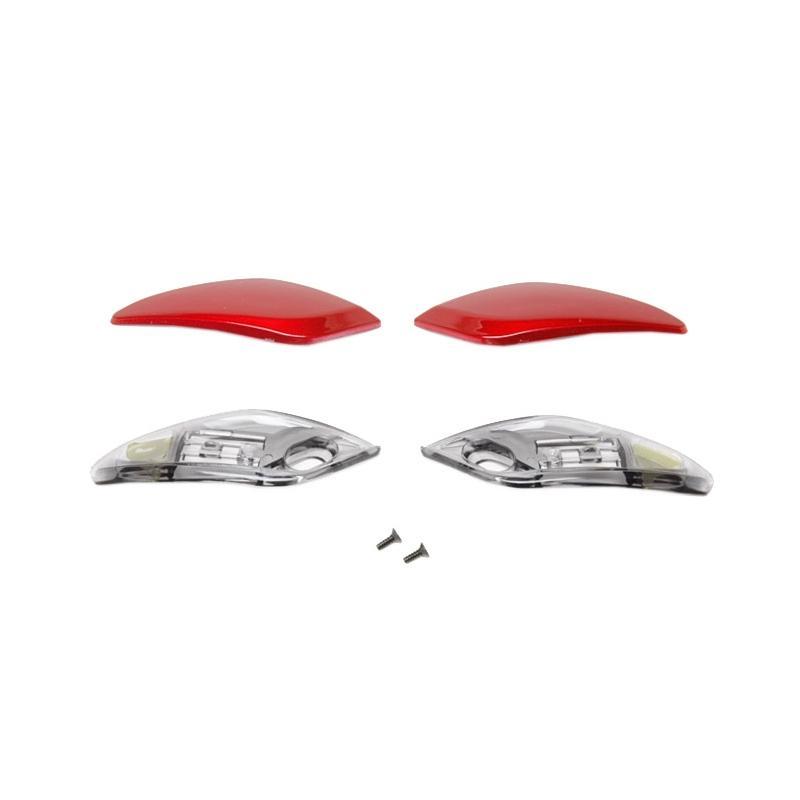 Ventilation frontale Shoei XR1100 rouge