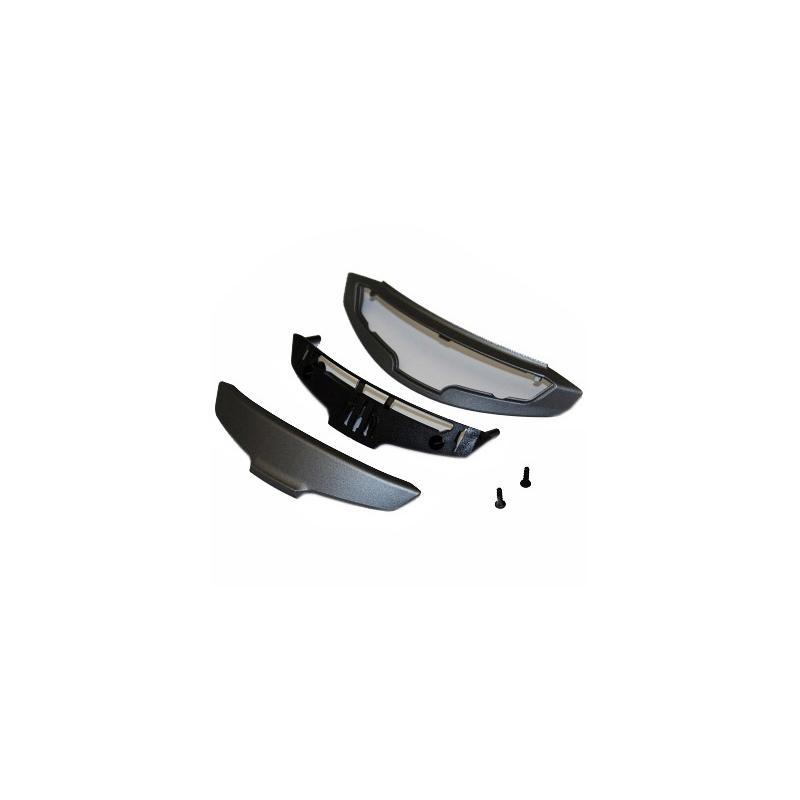 Ventilation mentonnière Shoei NXR gris foncé