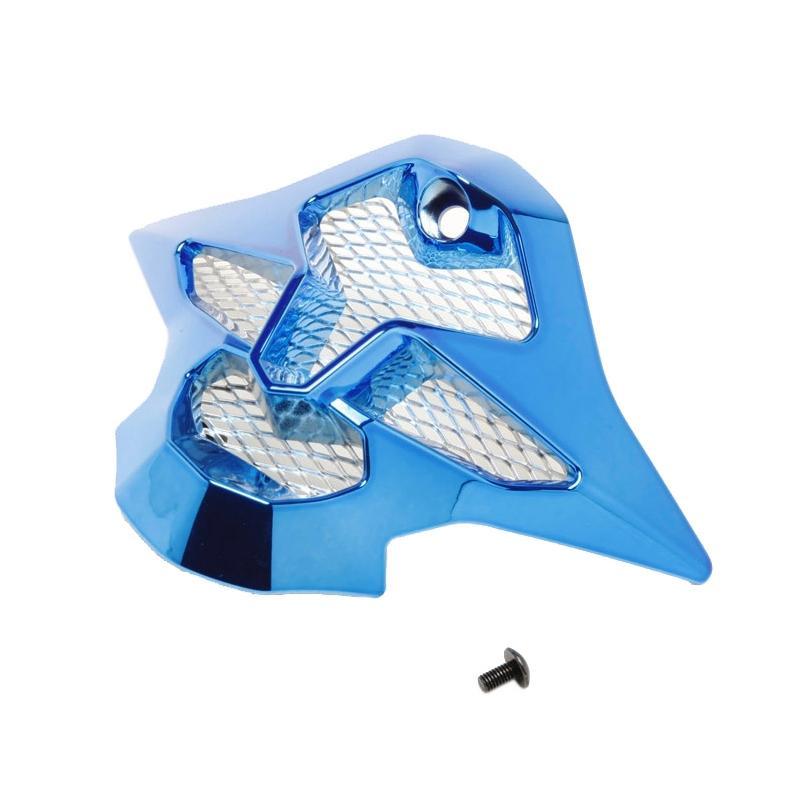 Ventilation mentonnière Shoei VFX-W chrome bleu