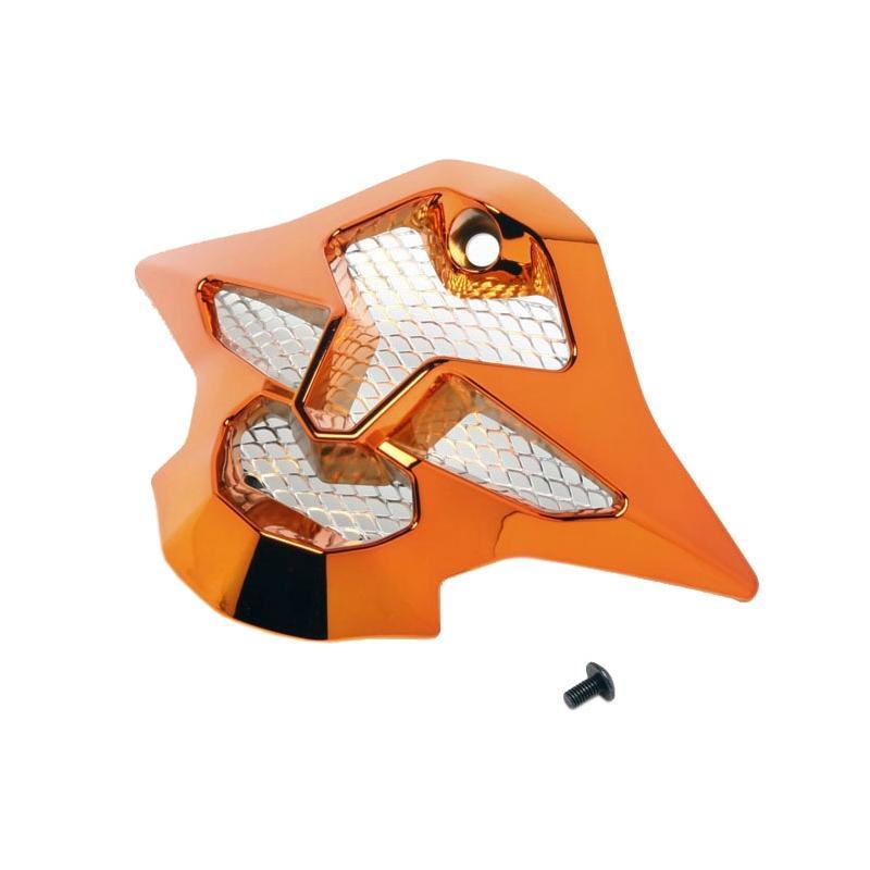 Ventilation mentonnière Shoei VFX-W chrome orange