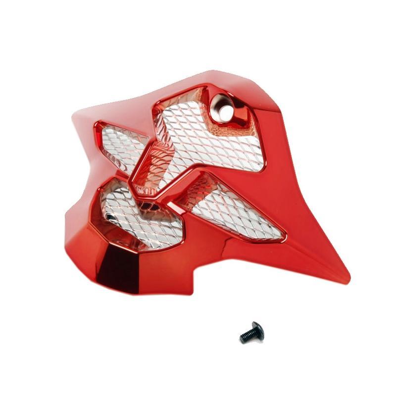 Ventilation mentonnière Shoei VFX-W chrome rouge