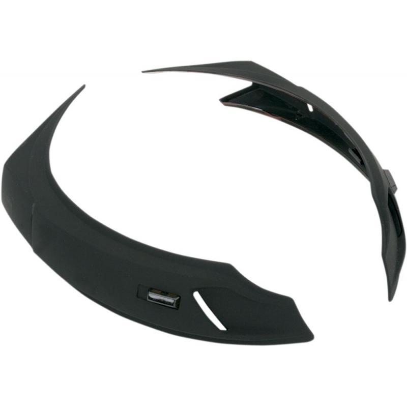 Ventilations Icon alliance noir mat