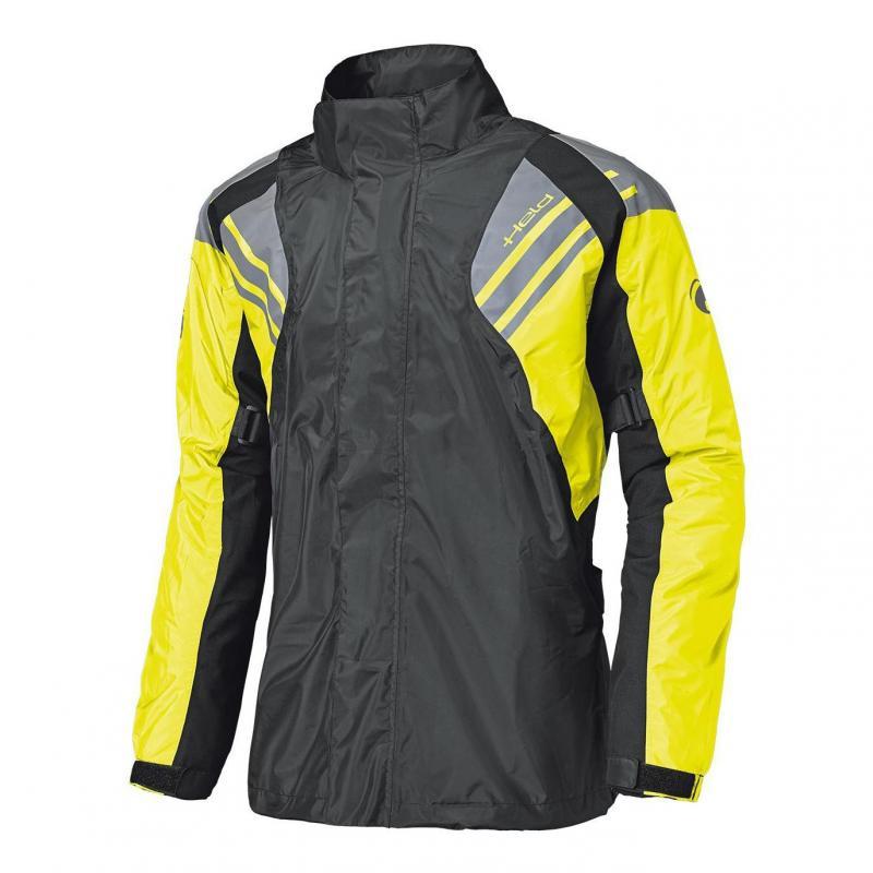 Veste de pluie Held Haze noir/jaune fluo