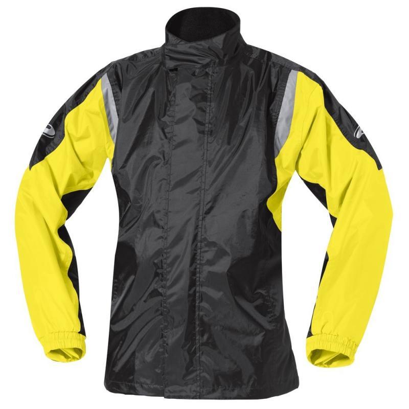 Veste de pluie Held MISTRAL II noir/jaune fluo
