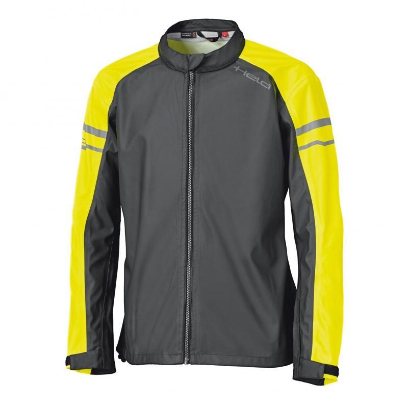 Veste de pluie Held Rainstretch Top noir/jaune