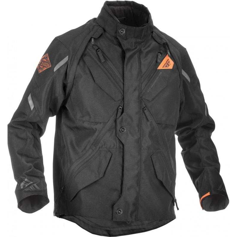 Veste enduro Fly Racing Patrol Jacket noire