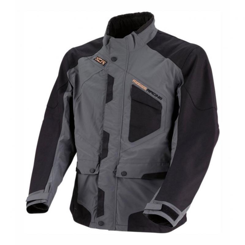 Veste enduro Moose Racing XCR gris/noir