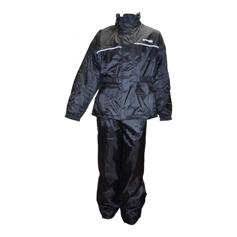 Veste et pantalon de pluie Trendy noir
