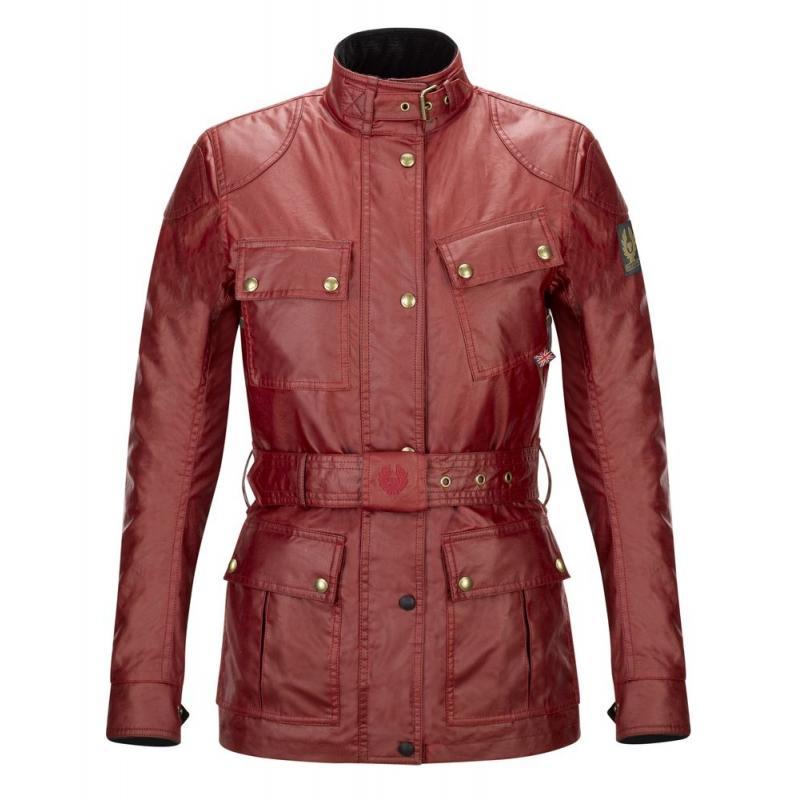 Veste femme Belstaff CLASSIC TOURIST TROPHY rouge