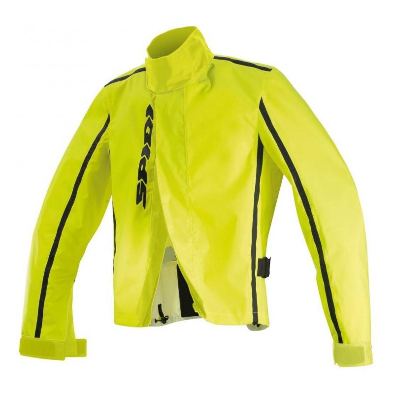 Veste imperméable Spidi RAIN COVER jaune fluo