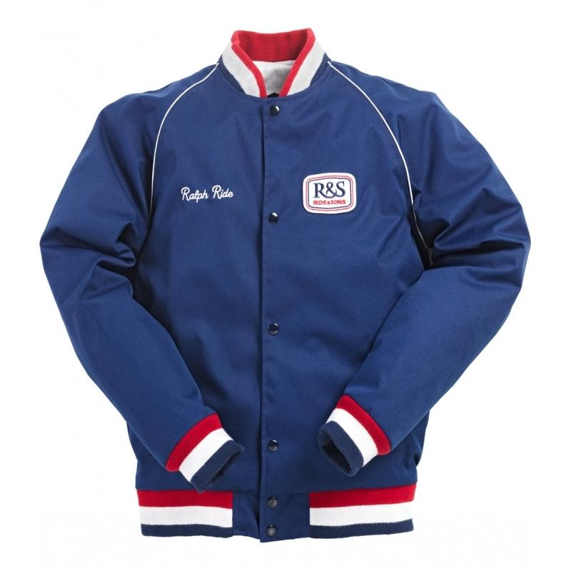 Veste Ride And Sons PADDOCK bleu marine