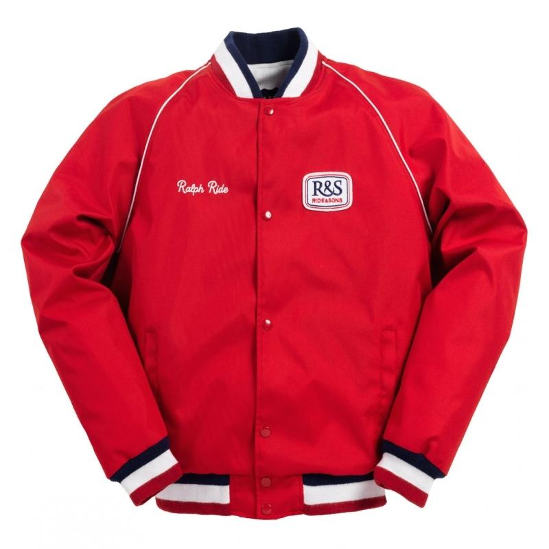 Veste Ride And Sons PADDOCK rouge
