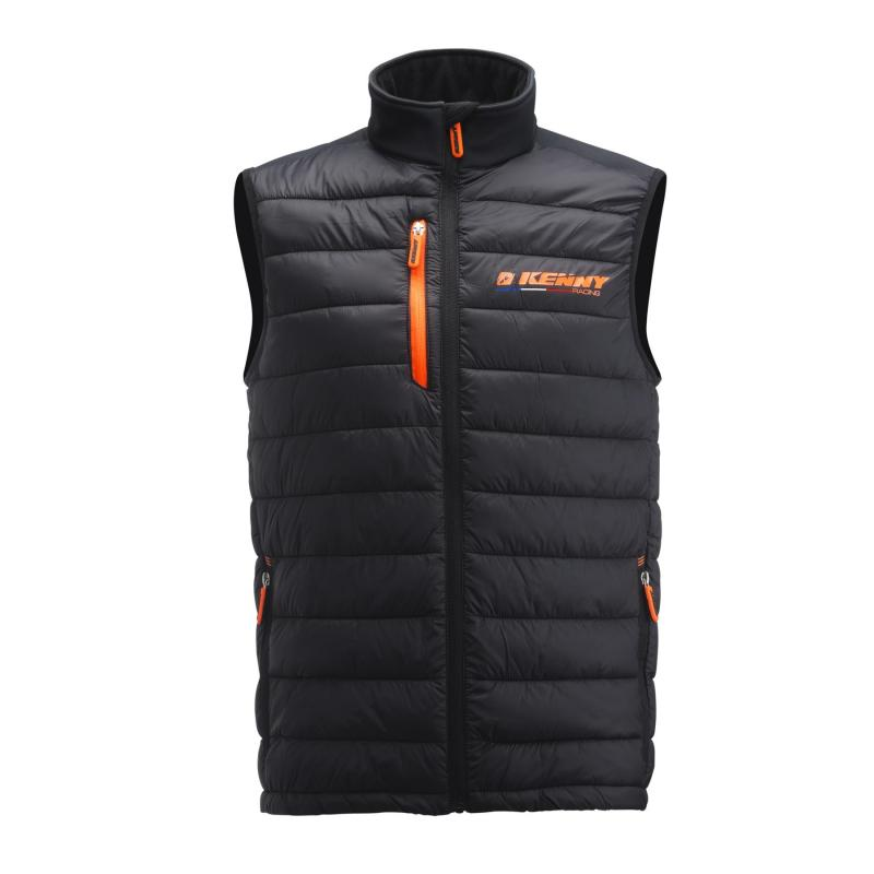 Veste sans manches Kenny Body Warmer Racing orange/noir
