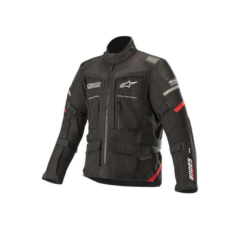 Veste textile Alpinestars Andes Pro Drystar Tech-Air noir/rouge