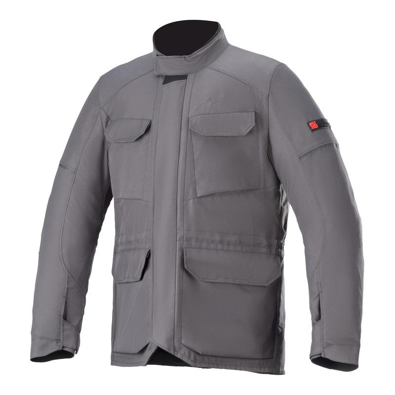 Veste textile Alpinestars Maverick Waterproof Tar gris