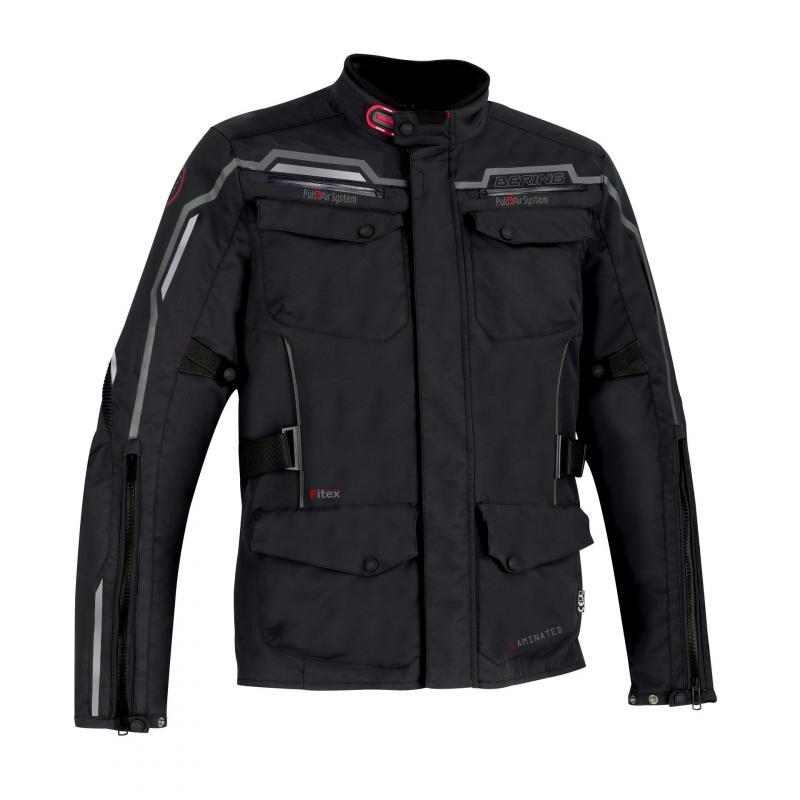 Veste textile Bering Balistik noir