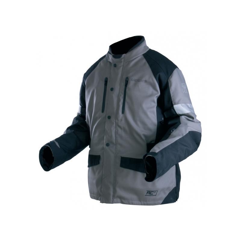 Veste textile Bering Luis noir/anthracite