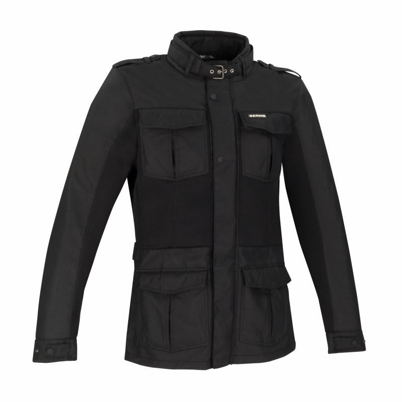 Veste textile Bering Wallace noir