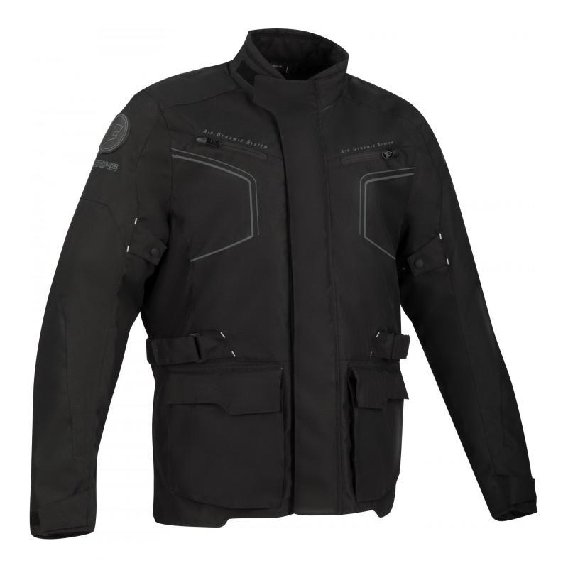 Veste textile Bering Winnipeg noir