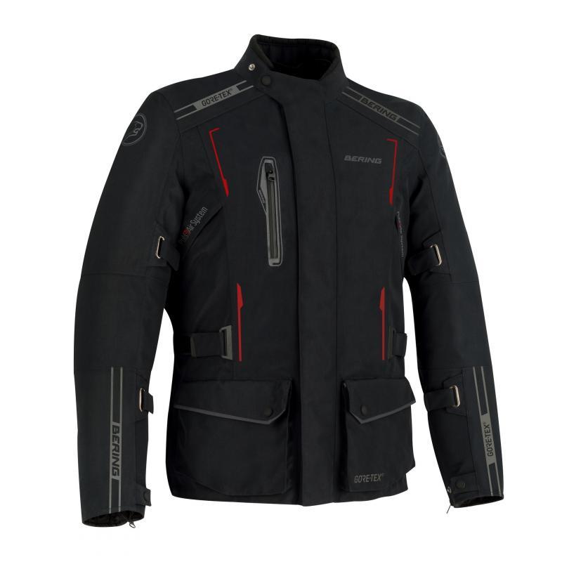 Veste textile Bering Yukon noir