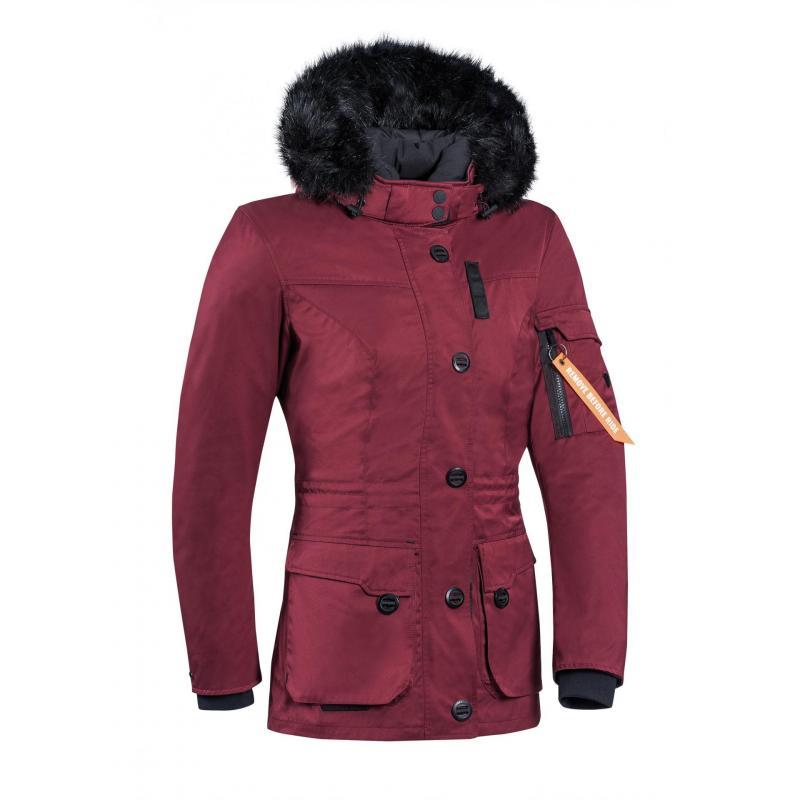 Veste textile femme Ixon Ontario Lady bordeaux