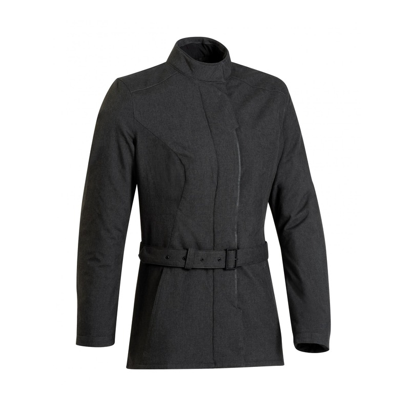 Veste textile femme Ixon Pradel gris chiné foncé