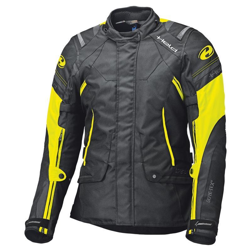 Veste textile Held Molto noir/fluorescent-jaune