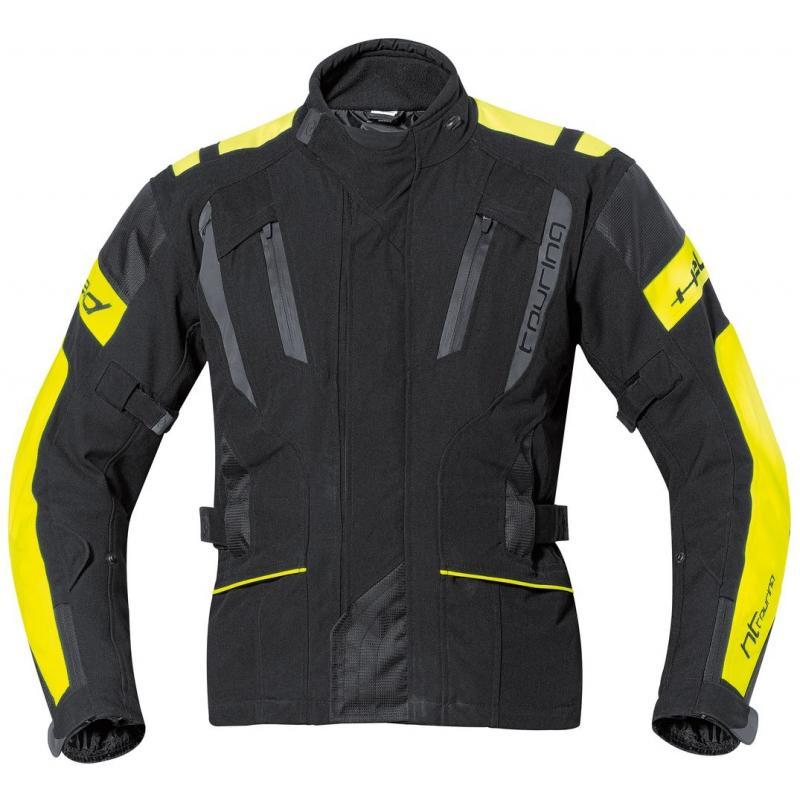 Veste textile Held TOURING noir/jaune fluo