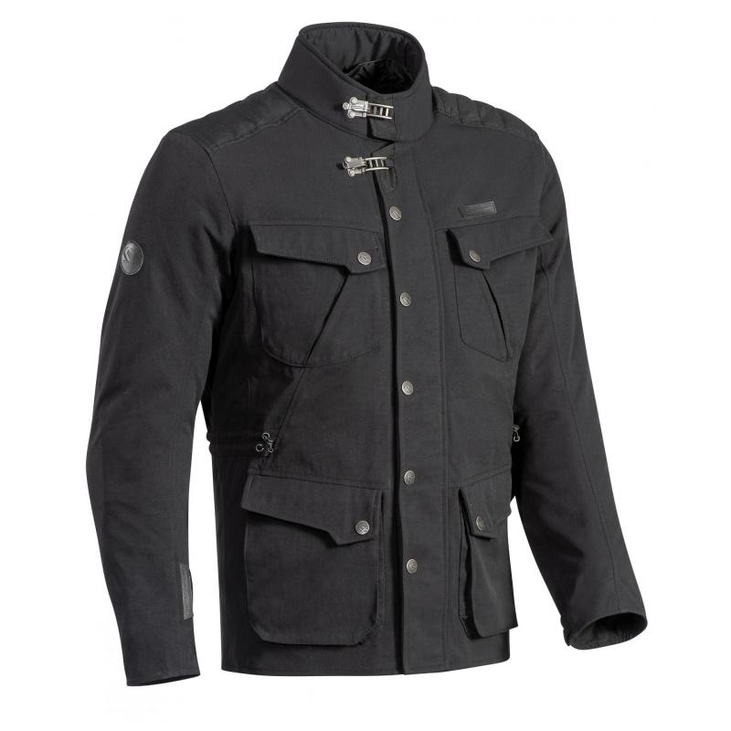 Veste textile Ixon Exhaust noir