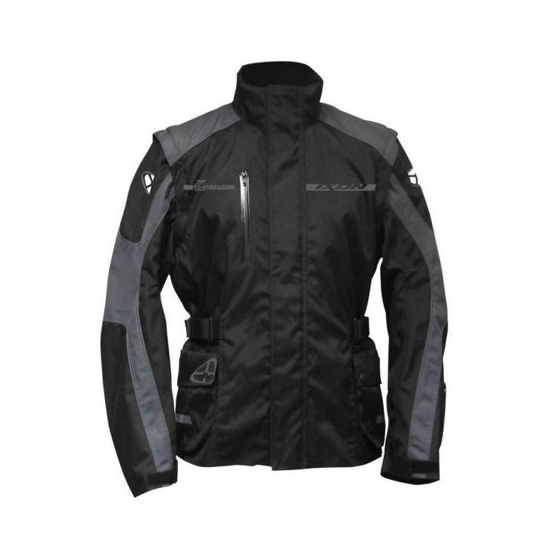 Veste Textile IXON Technic Noir/Gris Homme