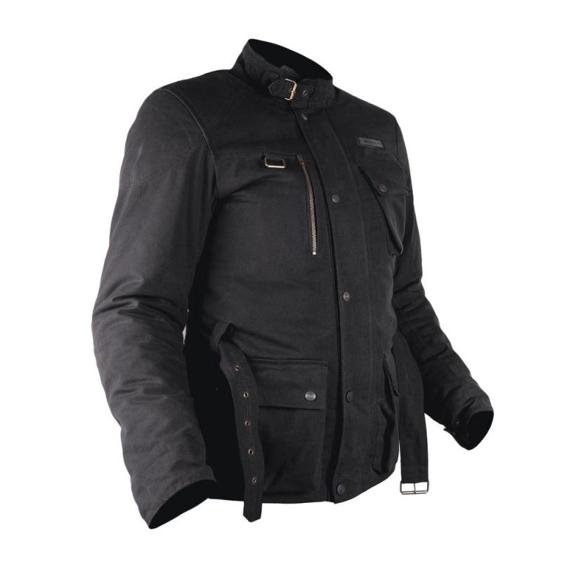 Veste textile Overlap GRAHAM noir