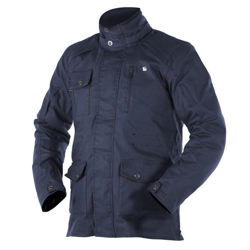 Veste textile Overlap WOODS bleu