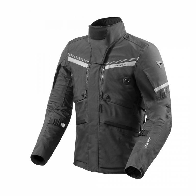 Veste textile Rev'it Poseidon 2 Gore-Tex noir