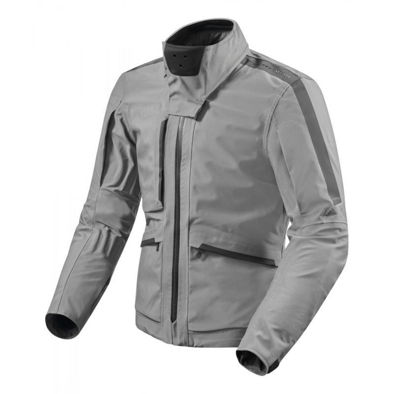 Veste textile Rev'it Ridge Gore-Tex gris
