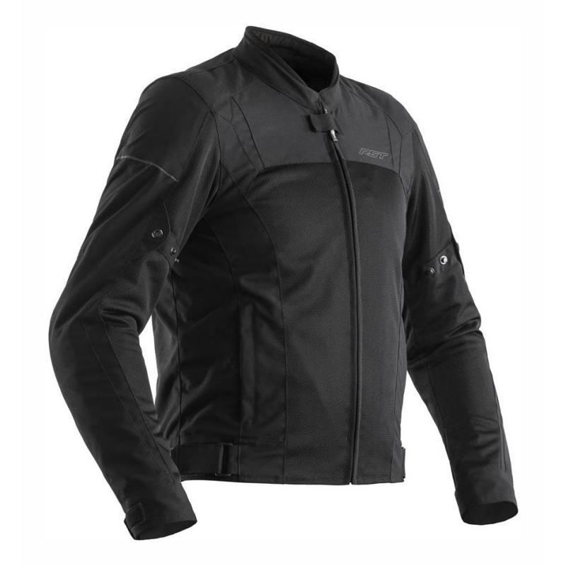 Veste textile RST Aero CE noir