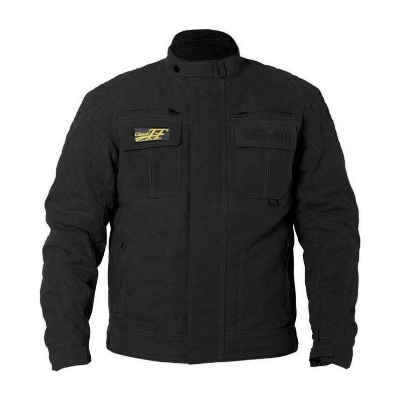 Veste textile RST Iom TT Classic III courte noir