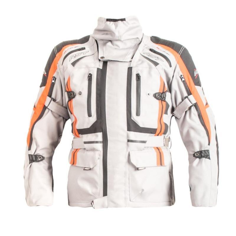 Veste textile RST Pro Serie Paragon V gris/rouge