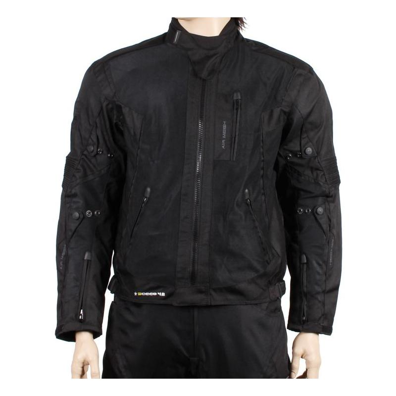 Veste textile Sceed 42 MESH noir