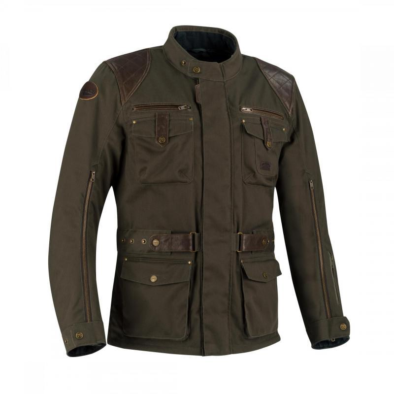 Veste textile Segura Gunthar marron