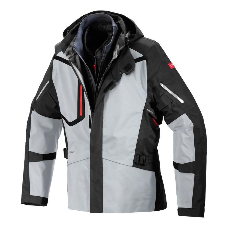 Veste textile Spidi Mission-T noir/Ice