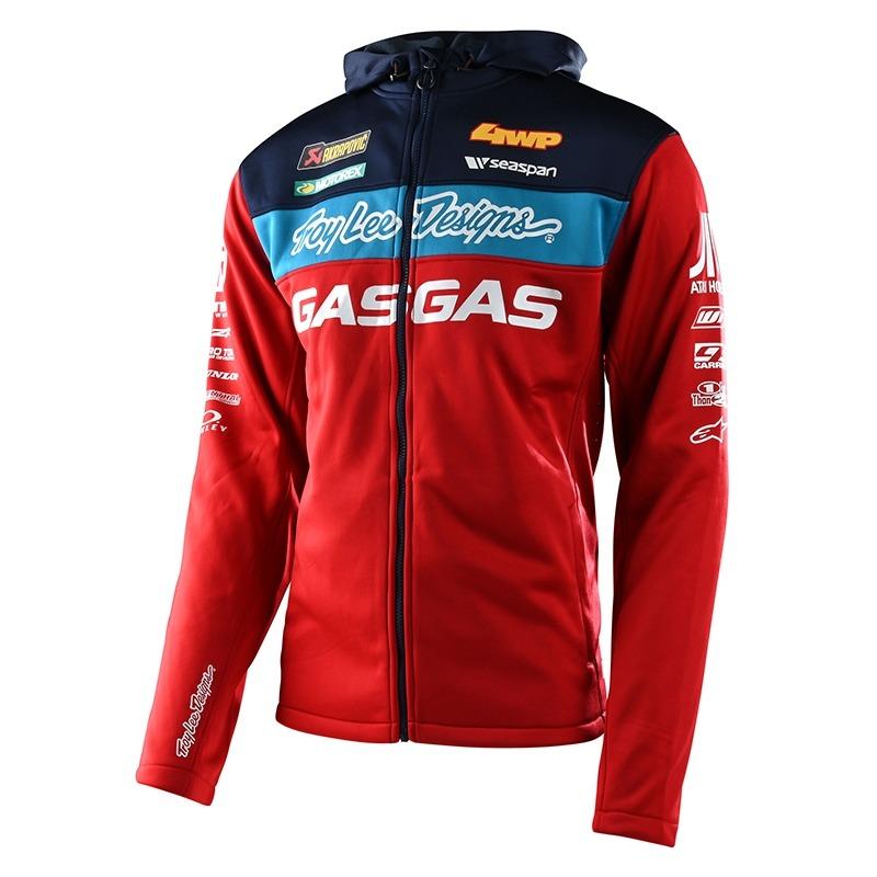 Veste Troy Lee Designs Gas Gas Team Paddock rouge