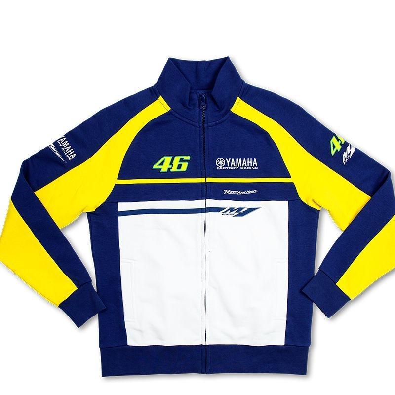 Veste zip femme Yamaha VR46 Valentino Rossi bleu