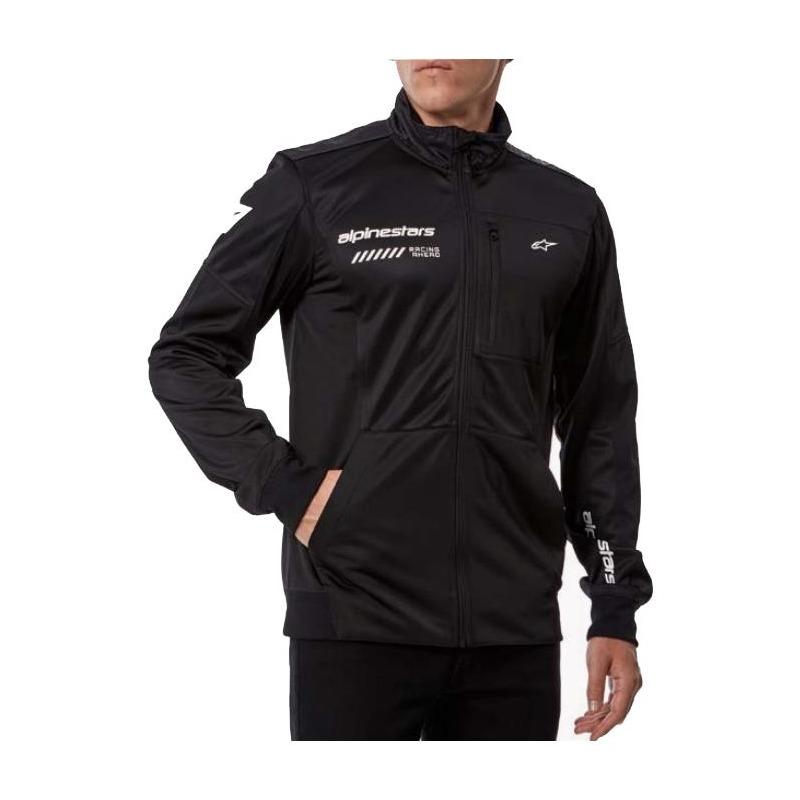 Veste zippée Alpinestars Strack Fleece noir