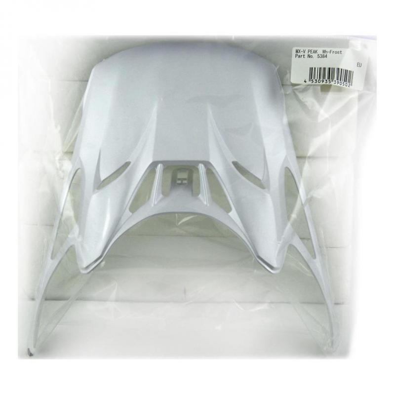 Visière Arai MX-V Frost White